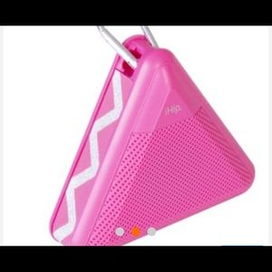 Pink Bluetooth Portable speaker / iHip